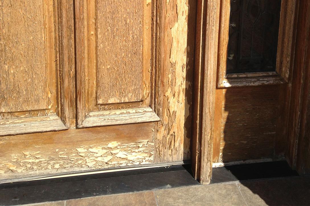 Front Door Refinishing Henderson Nevada